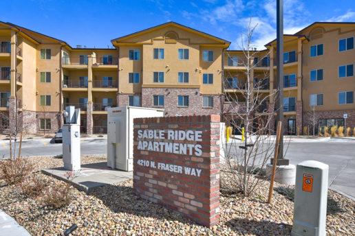 Sable Ridge Apartments signage